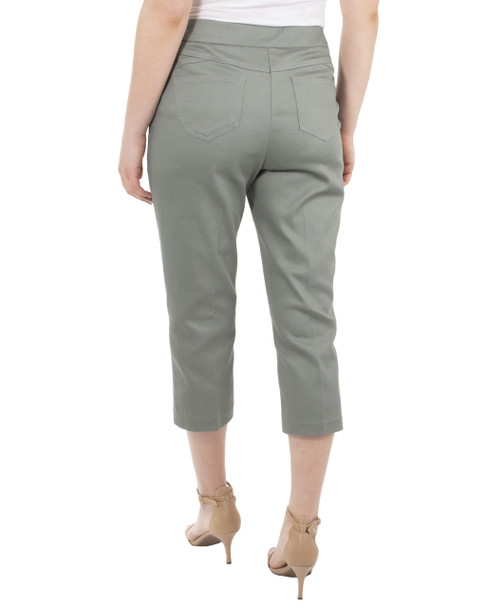 5 Pocket Capri Pants~Olive*MCNL0111