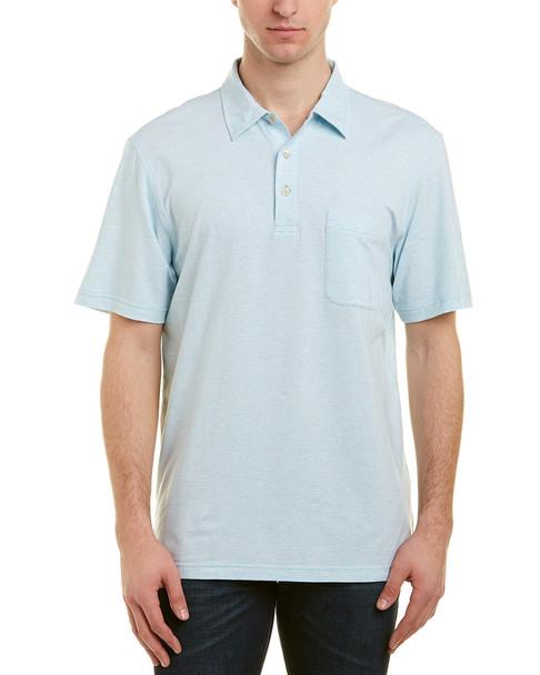 J.McLaughlin Callahan Fineline Polo Shirt~1010107353