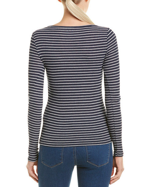 Three Dots Ribbed Top~1411036170