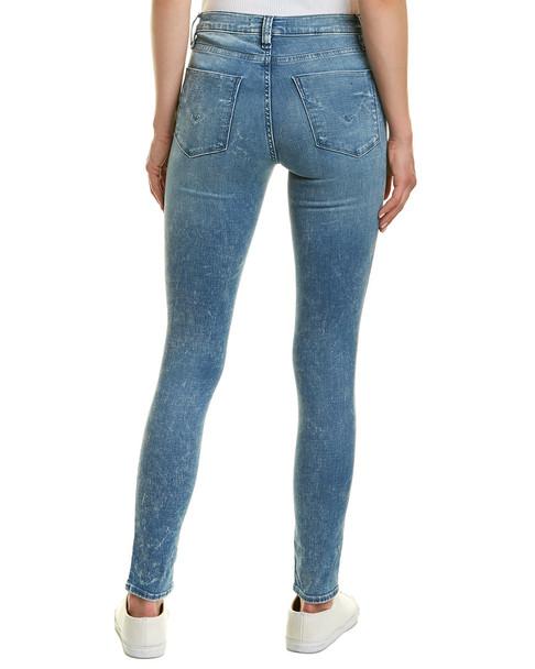 HUDSON Jeans Nico Sapphire Acid Super Skinny Leg~1411069186