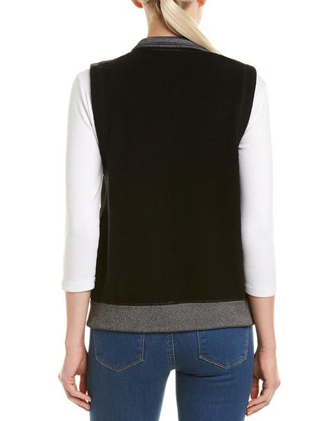 Three Dots Cozy Fleece Vest~1411088068