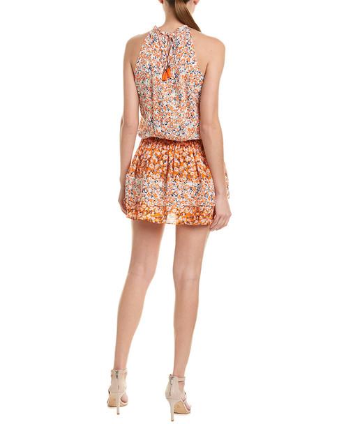 Ramy Brook Floral Silk Drop Waist Dress~1411105540