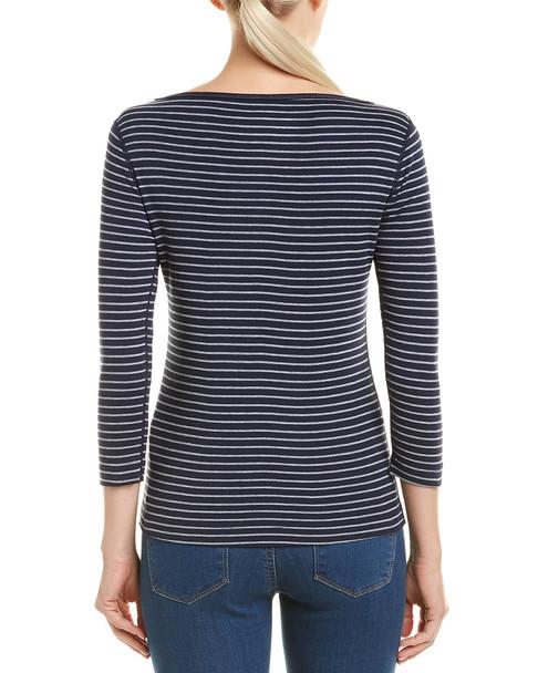 Three Dots Tahoe Stripe British T-Shirt~1411259456