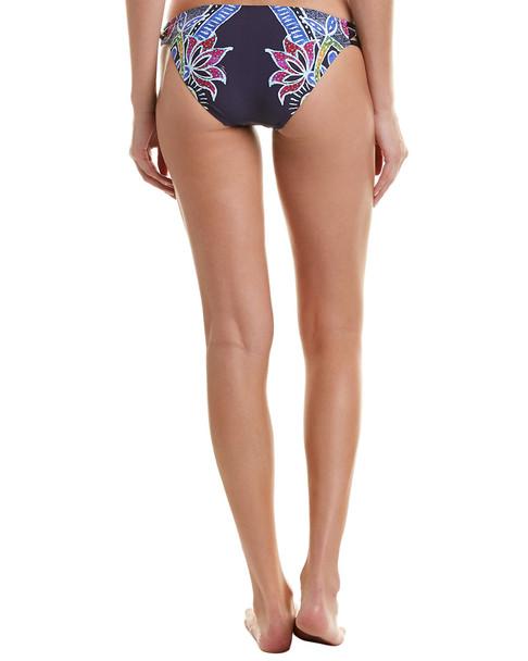 Trina Turk Lotus Batik Bikini Bottom~1411780838