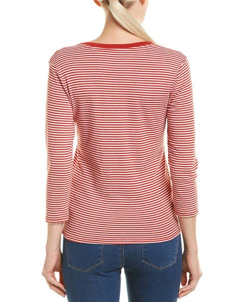 Three Dots Stripe T-Shirt~1411820754