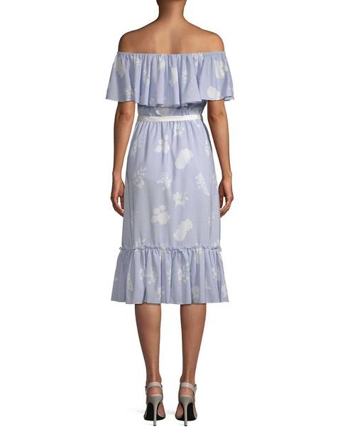 Endless Rose Ruffle Midi Dress~1411885008