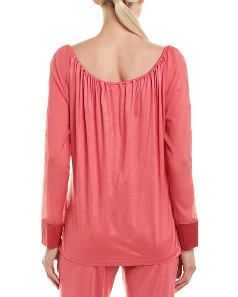 La Perla Silk-Blend Pajama Top~1412140608