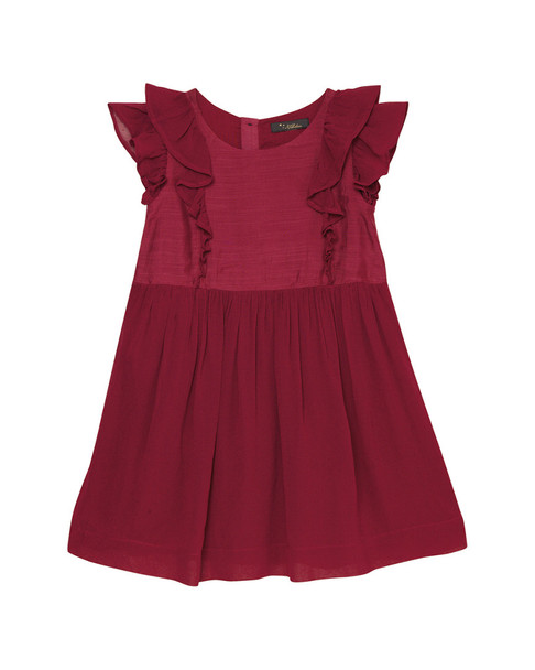 Velveteen Alessia Dress with Princess Frill~1511766788