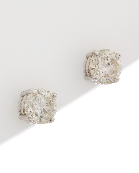 Saks Fifth Avenue 14K 1 ct. tw. Diamond Studs~60309274220000