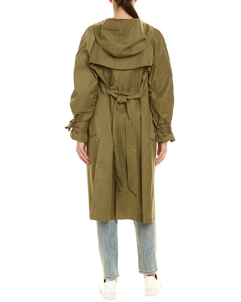 Scotch & Soda Hooded Trench Coat~1411964670