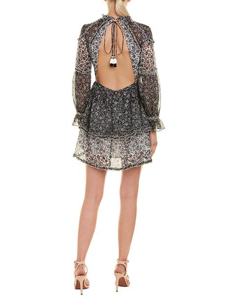 1st Sight Ruffle Tiered Midi Dress~1411992431