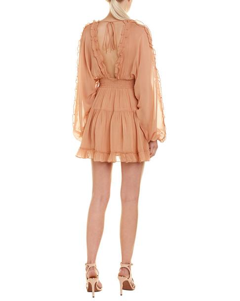 1st Sight Ruffle Midi Dress~1411992439
