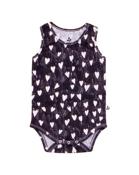 Noe & Zoe Squares Print Bodysuit~1511957563