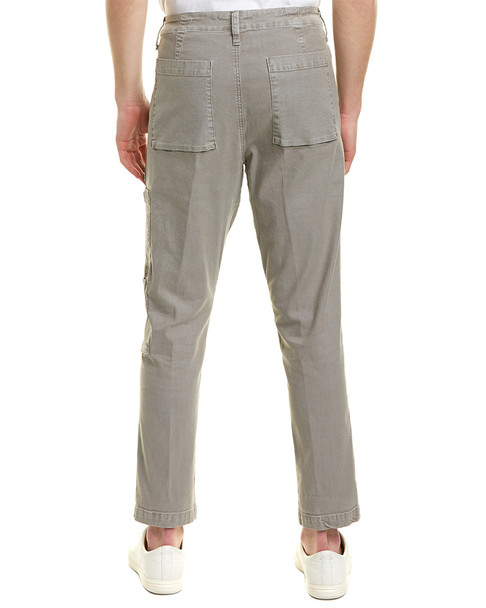 J Brand Koefficient Dull Darwi Linen-Blend Relaxed Slouch Fit~1010130002