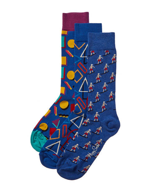 Happy Socks Pack of 3 Socks~10101500300000