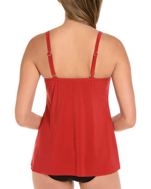 Miraclesuit So Riche Marina Tankini Top~1411163305
