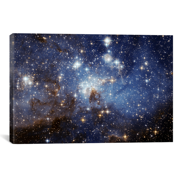 iCanvas ''LH-95 Stellar Nursery (Hubble Space Telescope)'' by NASA Gallery-Wrapped Canvas Print~11036-1PC3