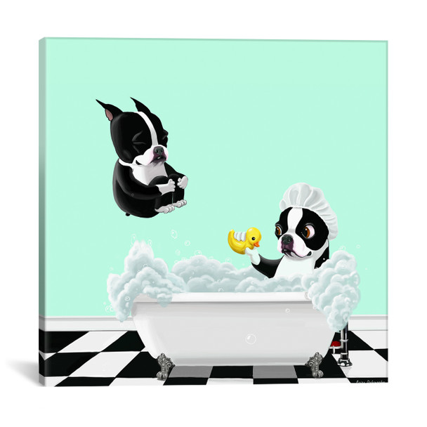 iCanvas ''Bath Time'' by Brian Rubenacker Gallery-Wrapped Canvas Print~12005-1PC3