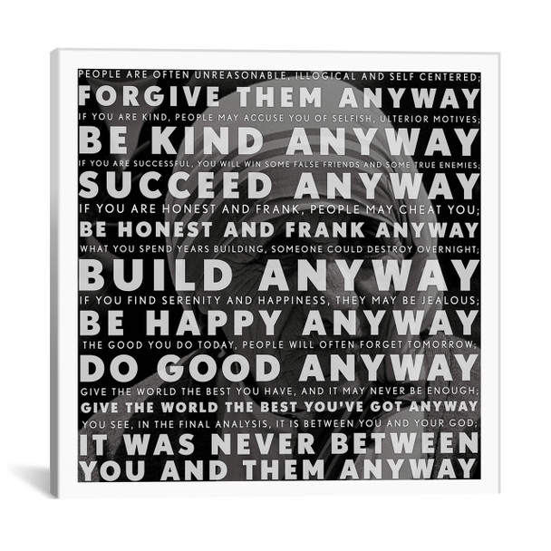iCanvas ''Mother Teresa Quote'' Gallery-Wrapped Canvas Print~4133-1PC3