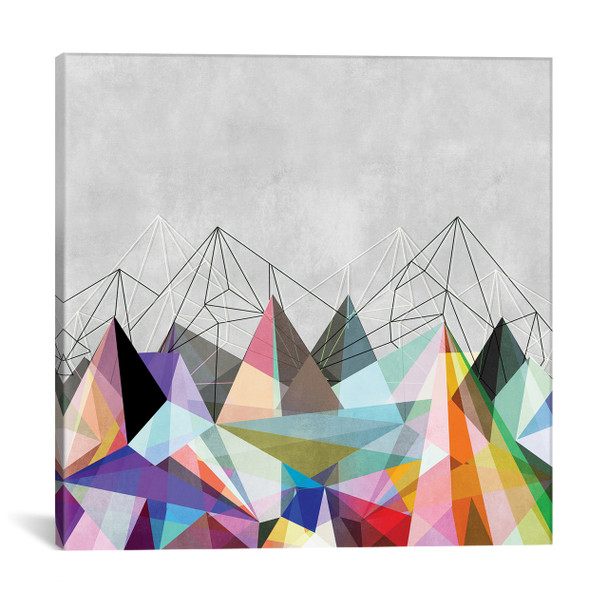iCanvas ''Colorflash III'' by Mareike Bohmer Gallery-Wrapped Canvas Print~BOH6-1PC3