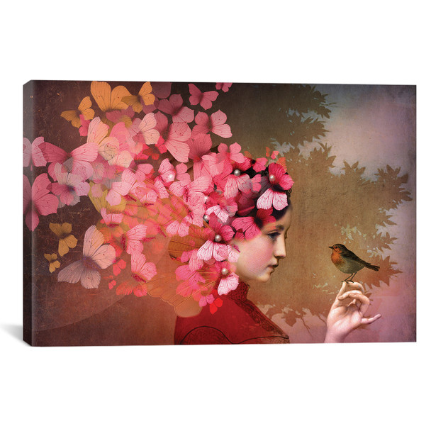 iCanvas ''Friendship'' by Catrin Welz-Stein Gallery-Wrapped Canvas Print~CWS13-1PC3