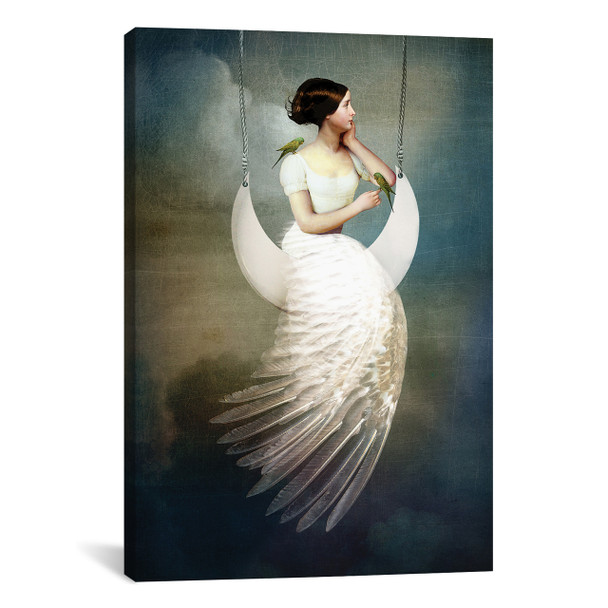 iCanvas ''To The Moon And Back'' by Catrin Welz-Stein Gallery-Wrapped Canvas Print~CWS28-1PC3