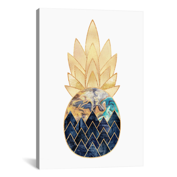 iCanvas ''Precious Pineapple I'' by Elisabeth Fredriksson Gallery-Wrapped Canvas Print~ELF87-1PC3