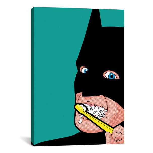 "iCanvas ''Bat-Brush'' by Gregoire ""Leon"" Guillemin Gallery-Wrapped Canvas Print~GGN4-1PC3"