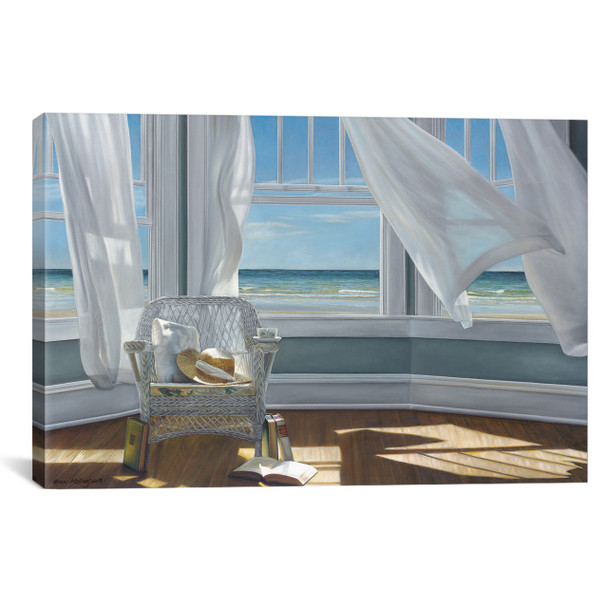iCanvas ''Gentle Reader'' by Karen Hollingsworth Gallery-Wrapped Canvas Print~ICS579-1PC3