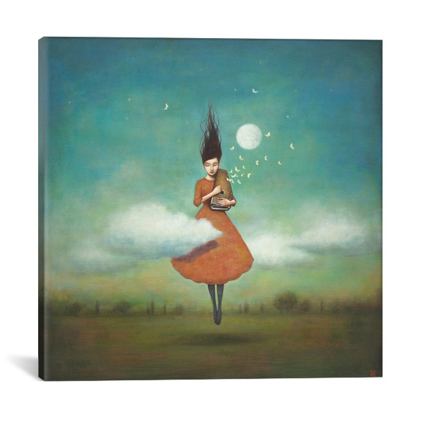 iCanvas ''High Notes For Low Clouds'' by Duy Huynh Gallery-Wrapped Canvas Print~ICS700-1PC3