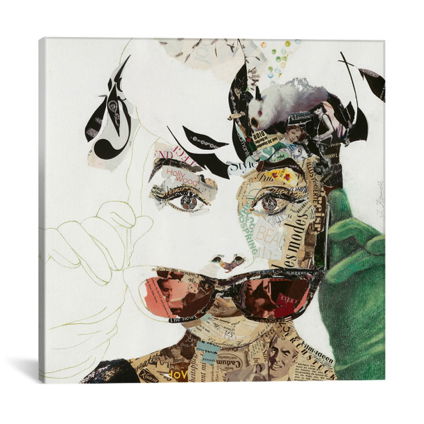 iCanvas ''Audrey'' by Ines Kouidis Gallery-Wrapped Canvas Print~IKS14-1PC3