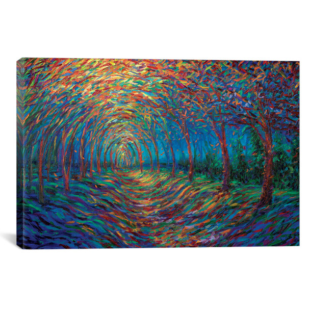 iCanvas ''House Of Moon And Trees'' by Iris Scott Gallery-Wrapped Canvas Print~IRS145-1PC3