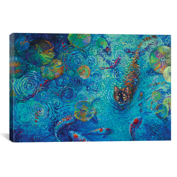iCanvas ''Coy'' by Iris Scott Gallery-Wrapped Canvas Print~IRS166-1PC3