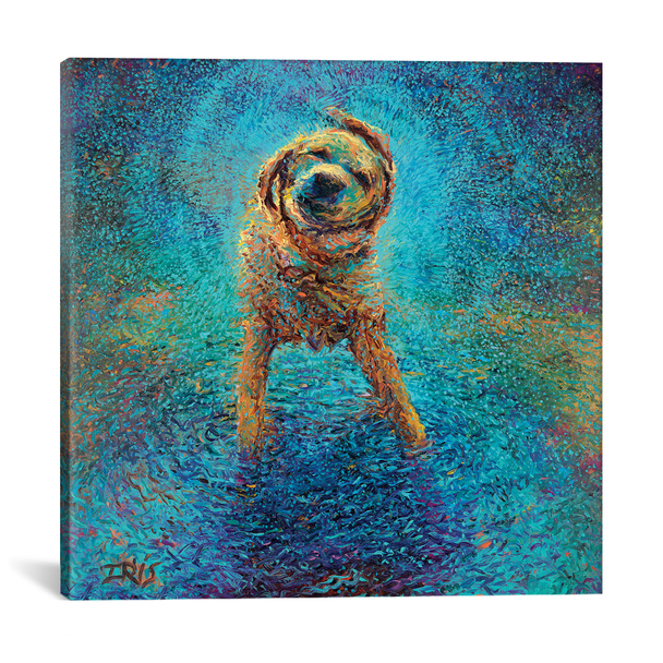 iCanvas ''Shakin' Off The Blues'' by Iris Scott Gallery-Wrapped Canvas Print~IRS63-1PC3