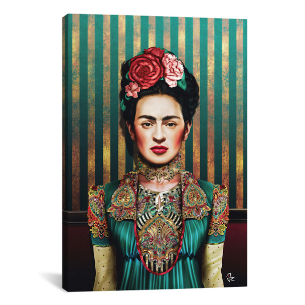 iCanvas ''Frida'' by Giulio Rossi Gallery-Wrapped Canvas Print~JRI34-1PC3