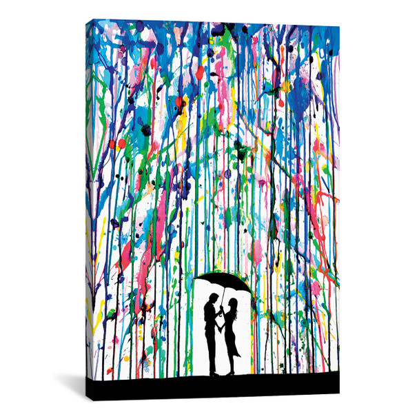 iCanvas ''Pour Deux'' by Marc Allante Gallery-Wrapped Canvas Print~MAE18-1PC3