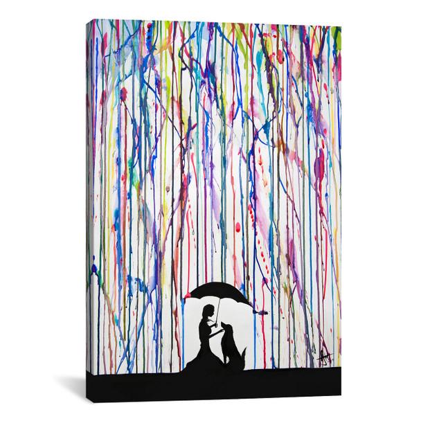 iCanvas ''Sempre'' by Marc Allante Gallery-Wrapped Canvas Print~MAE26-1PC3