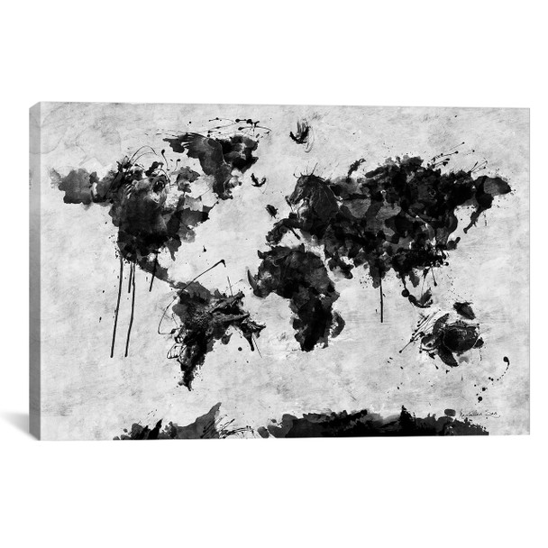 iCanvas ''Wild World'' by Diego Tirigall Gallery-Wrapped Canvas Print~MXS76-1PC3