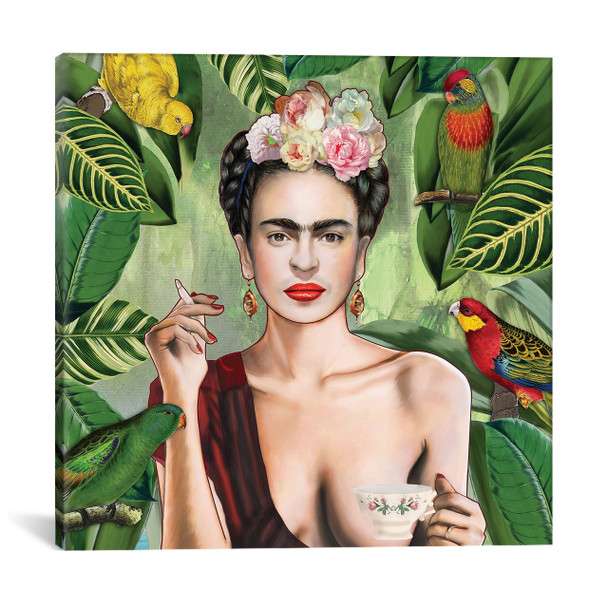 iCanvas ''Frida Con Amigos'' by Nettsch Gallery-Wrapped Canvas Print~NET16-1PC3