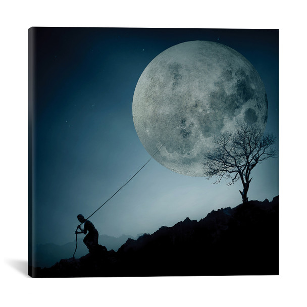 iCanvas ''The Dreamer'' by Final Toto Gallery-Wrapped Canvas Print~OXM1371-1PC3