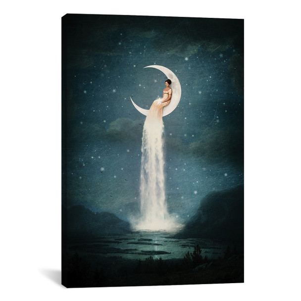 iCanvas ''Moonriver Lady'' by Paula Belle Flores Gallery-Wrapped Canvas Print~PBF34-1PC3