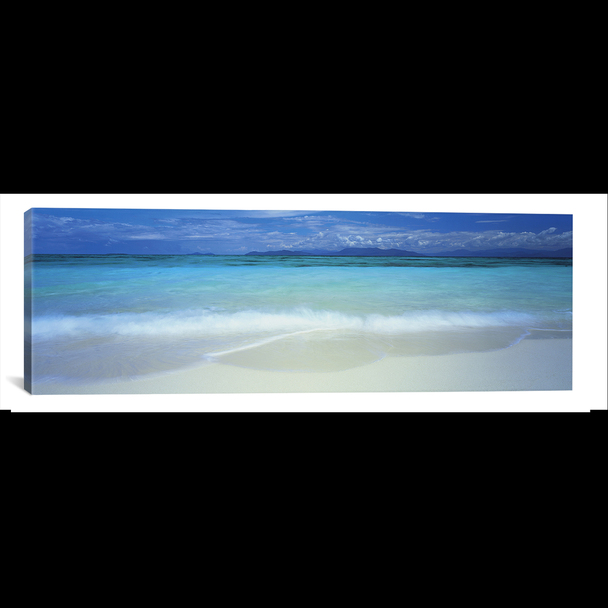 iCanvas ''Clouds over an ocean, Great Barrier Reef, Queensland, Australia'' by Panoramic Images Gallery-Wrapped Canvas Print~PIM4845-1PC3