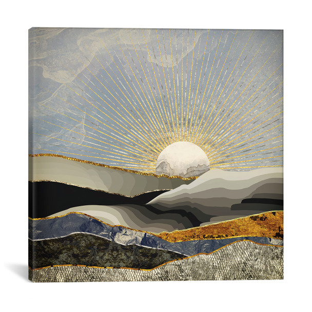 iCanvas ''Morning Sun'' by SpaceFrog Designs Gallery-Wrapped Canvas Print~SFD80-1PC3