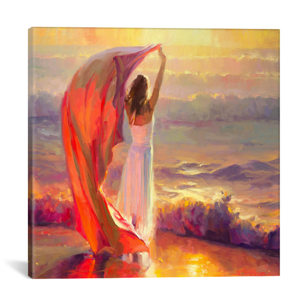 iCanvas ''Ocean Breeze'' by Steve Henderson Gallery-Wrapped Canvas Print~SHN5-1PC3