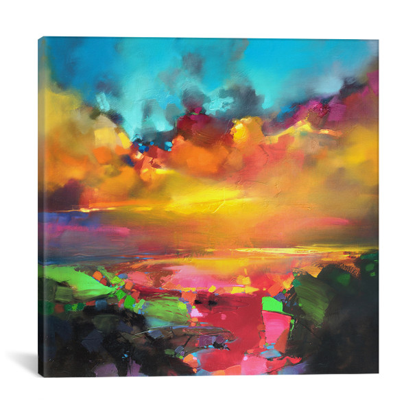iCanvas ''Consonance And Disonance'' by Scott Naismith Gallery-Wrapped Canvas Print~SNH57-1PC3
