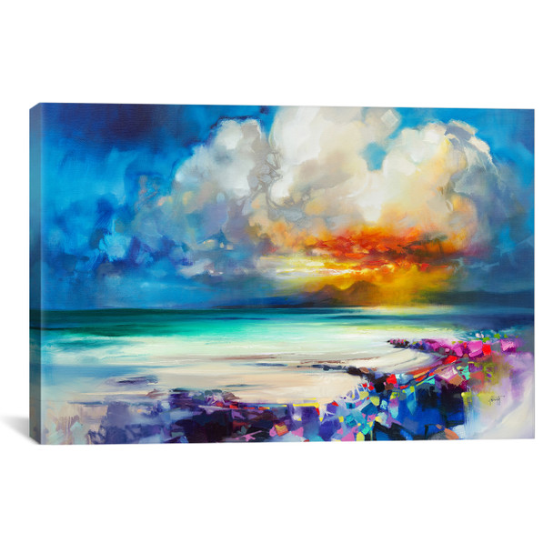 iCanvas ''Golden'' by Scott Naismith Gallery-Wrapped Canvas Print~SNH92-1PC3