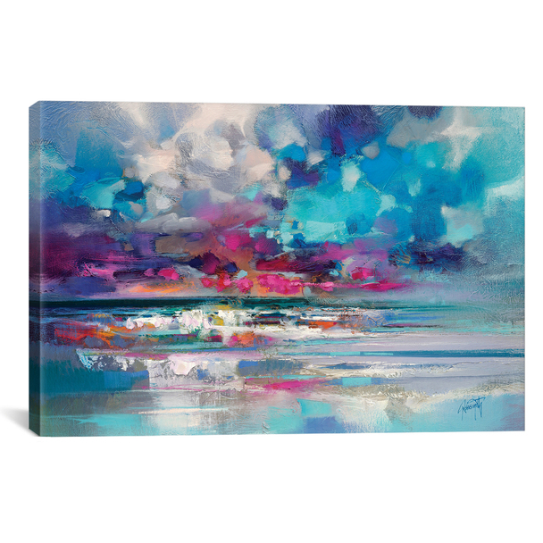 iCanvas ''Atlantic Magenta'' by Scott Naismith Gallery-Wrapped Canvas Print~SNH98-1PC3