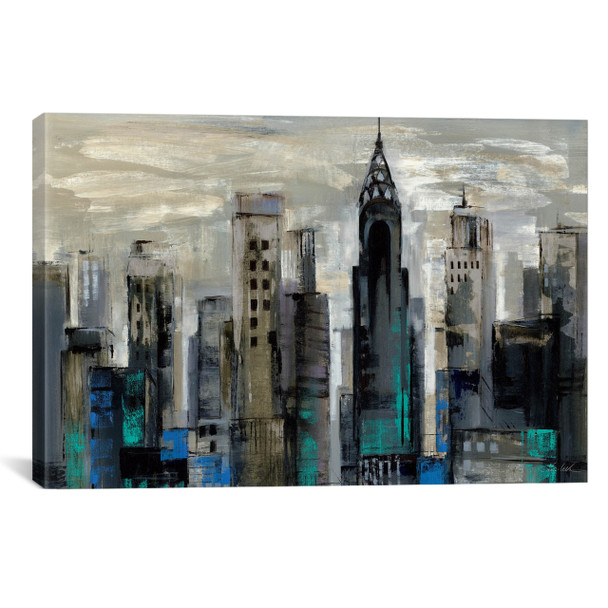 iCanvas ''New York Moment '' by Silvia Vassileva Gallery-Wrapped Canvas Print~WAC1319-1PC3