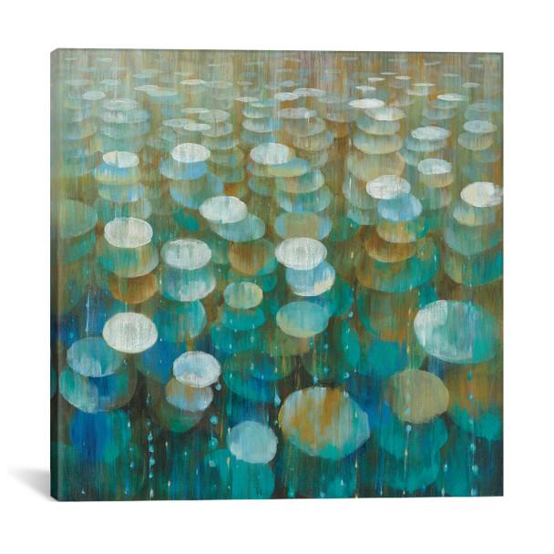 iCanvas ''Rain Drops'' by Danhui Nai Gallery-Wrapped Canvas Print~WAC4351-1PC3