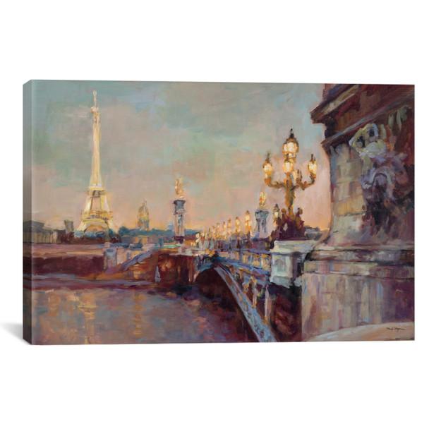 iCanvas ''Parisian Evening Crop '' by Marilyn Hageman Gallery-Wrapped Canvas Print~WAC895-1PC3